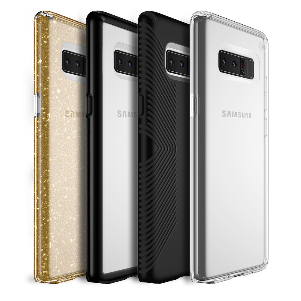 Speck's has cases available for the Galaxy Note8 4
